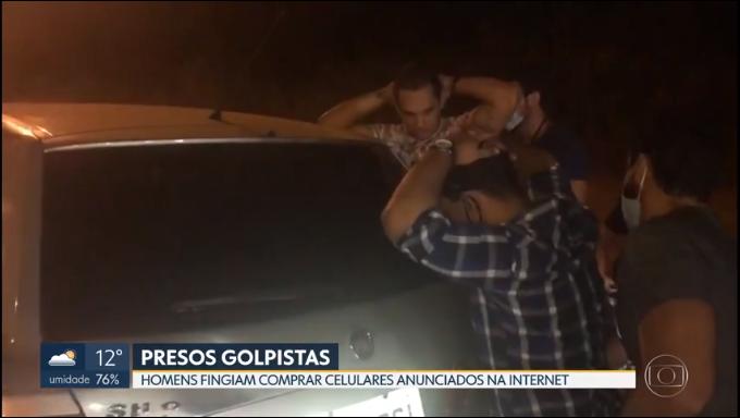 Dois oeirenses foram autuados em flagrante pelo crime de estelionato em Brasília 2