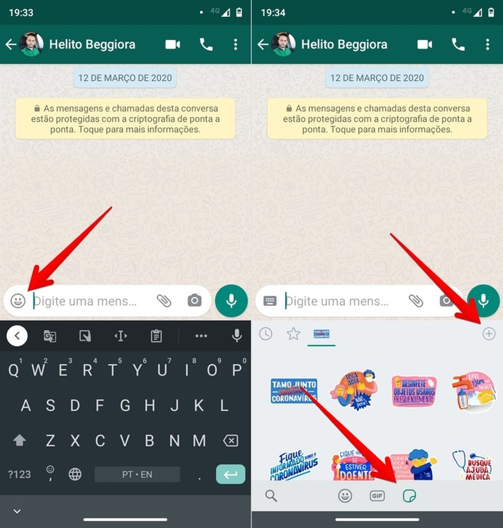 WhatsApp agora tem figurinhas animadas: como ter stickers que se mexem 2