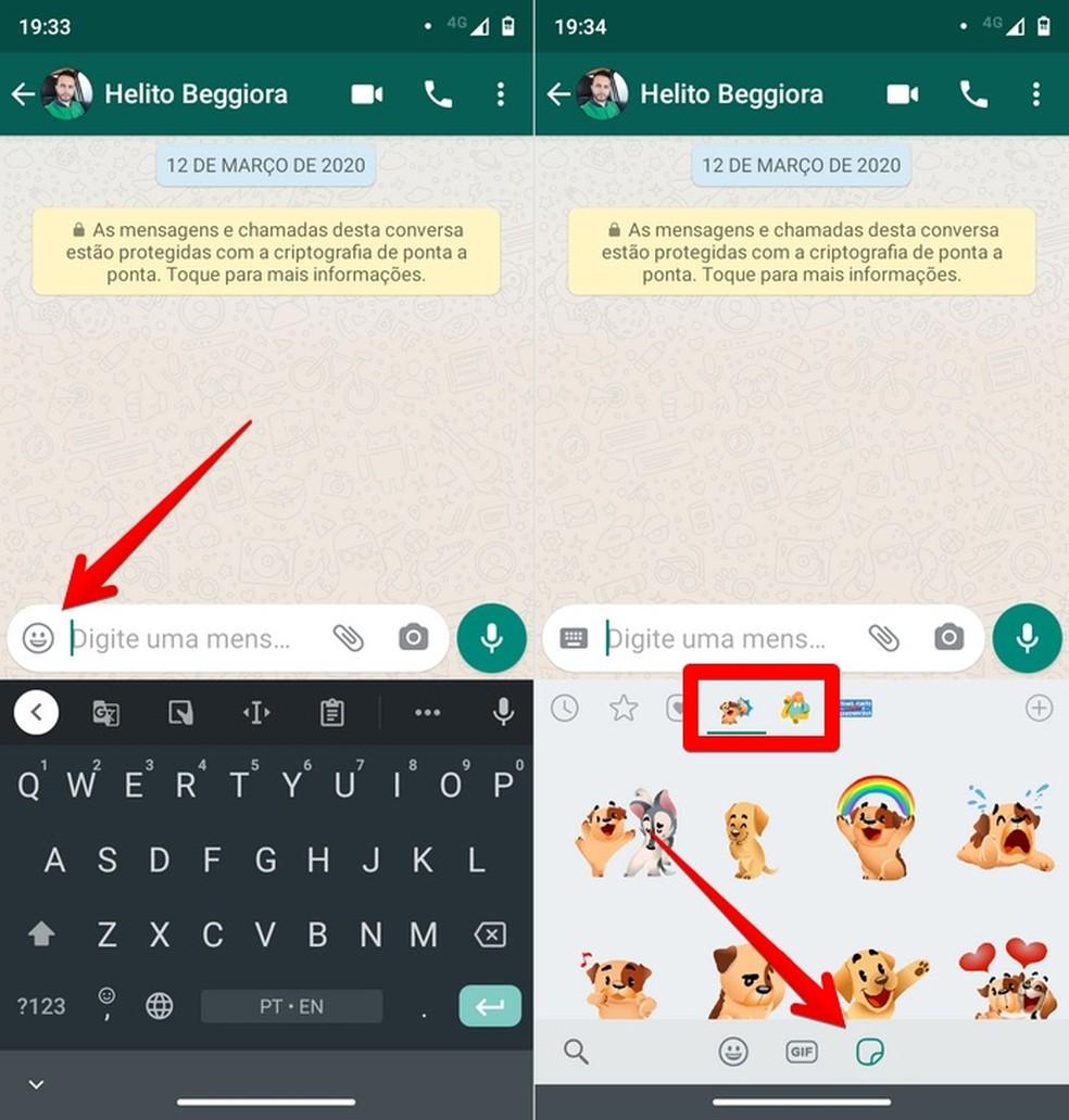 WhatsApp agora tem figurinhas animadas: como ter stickers que se mexem 4