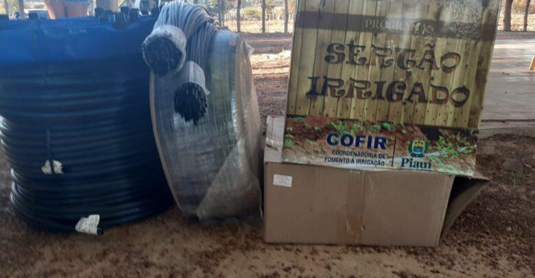 Agricultores de Santa Rosa recebem kits de irrigação para auxiliar no cultivo e produção de alimentos 1