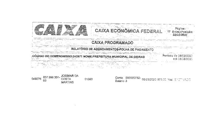Vereador Beron Morais faz denúncia contra 'contratação fantasma' na Prefeitura Municipal de Oeiras 2