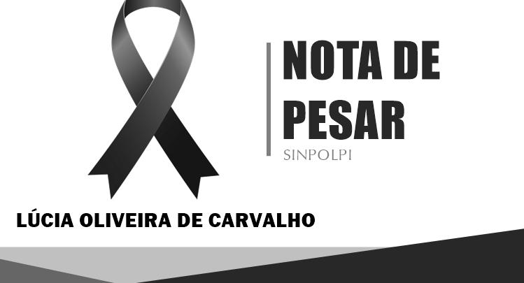 Sindicato dos Policiais Civis do Piauí emite nota de pesar pela morte de Lúcia Carvalho 1