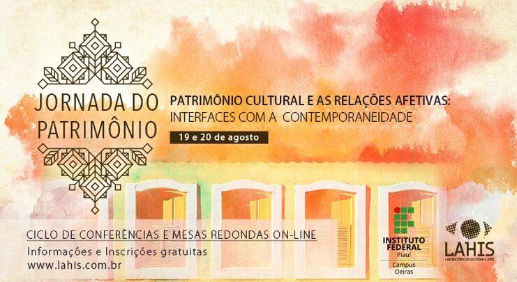 Oeiras realiza Jornada de Patrimônio na modalidade virtual 1