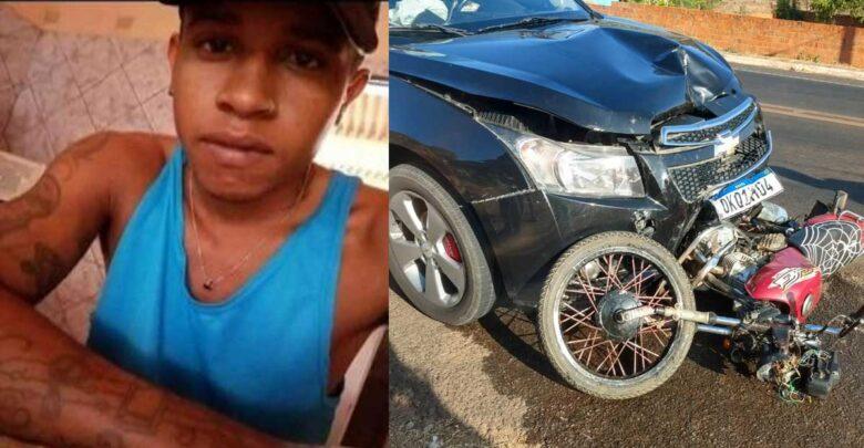 Jovem de 21 anos morre após colisão de moto contra veiculo em Oeiras 1