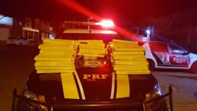 PRF prende homem com 148 kg de maconha vinda do Paraguai em abordagem em Picos 3