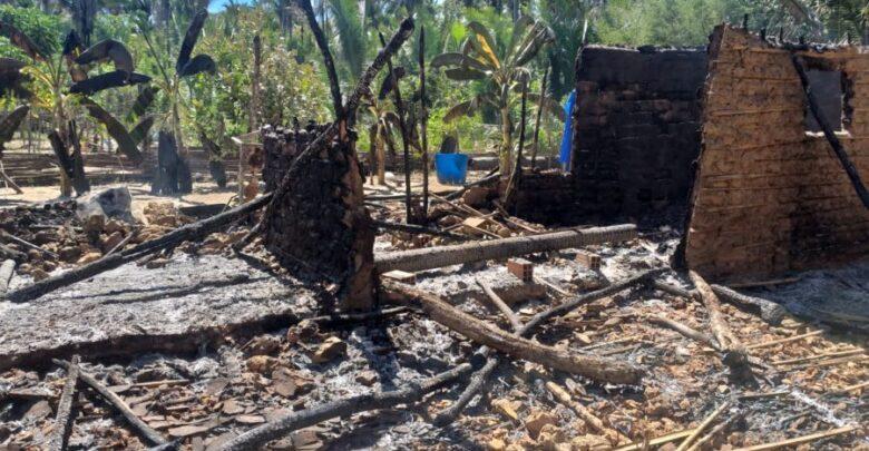 Incêndio destrói residência e família perde tudo em cidade do Piauí 1