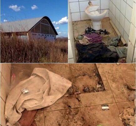 Ginásio poliesportivo abandonado vira motel público em município do Piauí 1