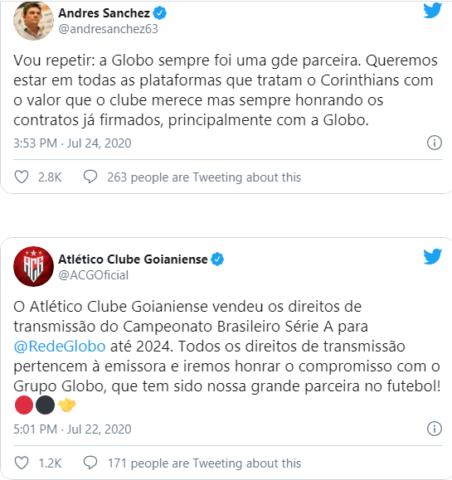 Globo vai à Justiça para impedir Turner de transmitir jogos de clubes com os quais não tem contrato 2