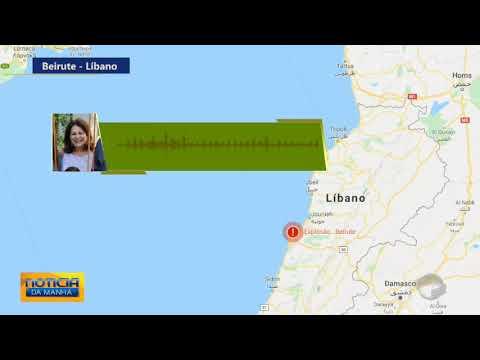 Piauiense relata momentos de pânico após explosão no Líbano; Ouça 1