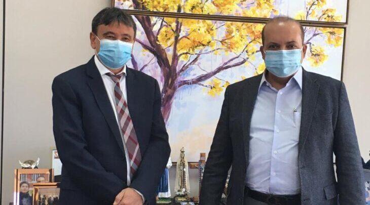 Wellington Dias discute plano de vacinação contra a Covid-19 com o governador do DF 1