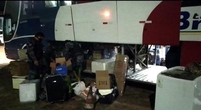 PM prende jovem com 59 kg de maconha dentro de ônibus em Simplício Mendes 1