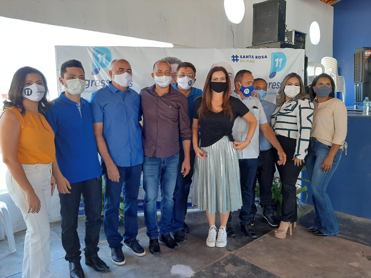 PP realiza convenção e lança Edgar Castelo Branco e Mundô em Santa Rosa-PI 7