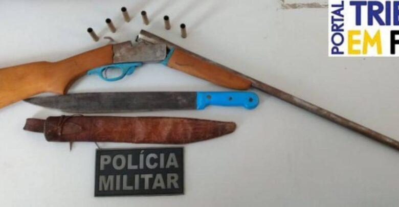 Homem tenta matar amante de esposa a tiros ao descobrir traição no Piauí 1
