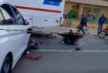 Mototaxista morre em grave colisão envolvendo 6 veículos em Teresina 10