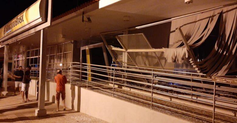 Criminosos explodem agência do Banco do Brasil em cidade do Pernambuco 1