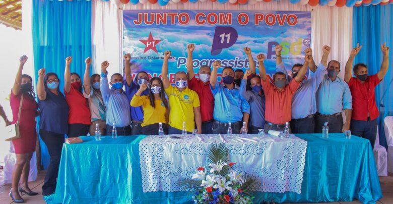 Tiel e Luizinho são homologados como candidatos a prefeito e vice em convenção em Tanque do Piauí 1
