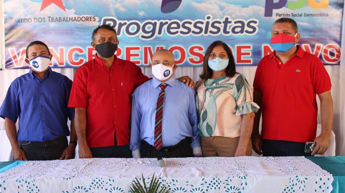 Tiel e Luizinho são homologados como candidatos a prefeito e vice em convenção em Tanque do Piauí 2