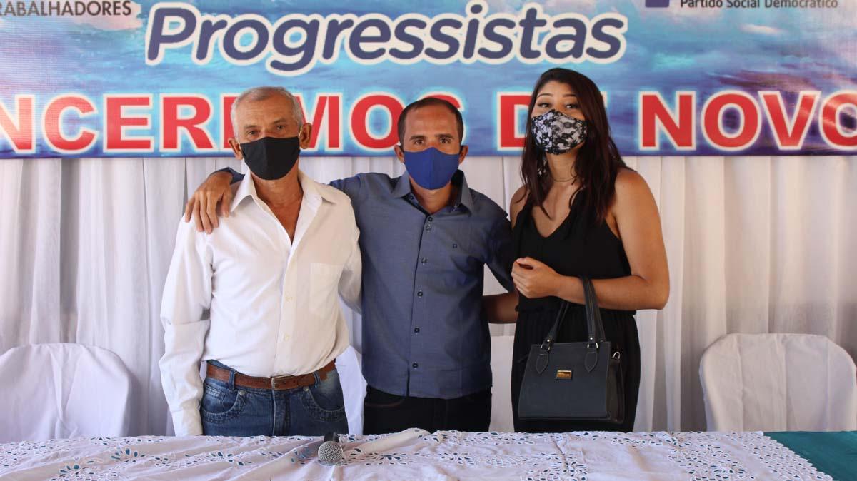 Tiel e Luizinho são homologados como candidatos a prefeito e vice em convenção em Tanque do Piauí 4