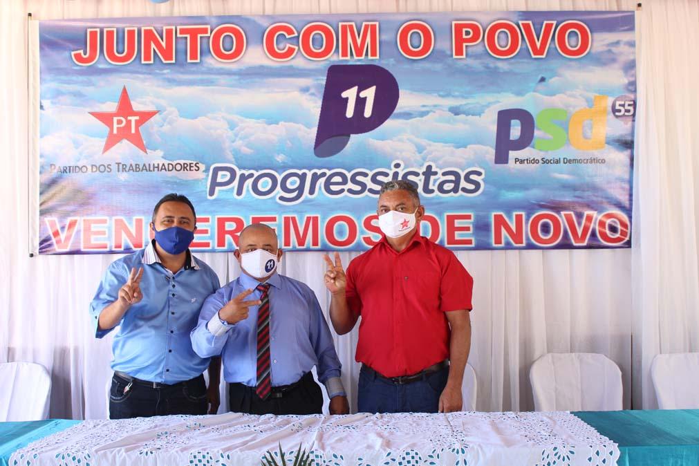 Tiel e Luizinho são homologados como candidatos a prefeito e vice em convenção em Tanque do Piauí 5