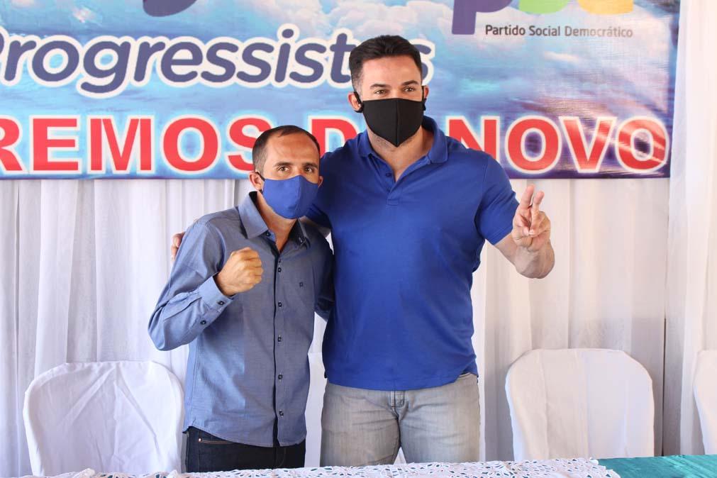 Tiel e Luizinho são homologados como candidatos a prefeito e vice em convenção em Tanque do Piauí 6