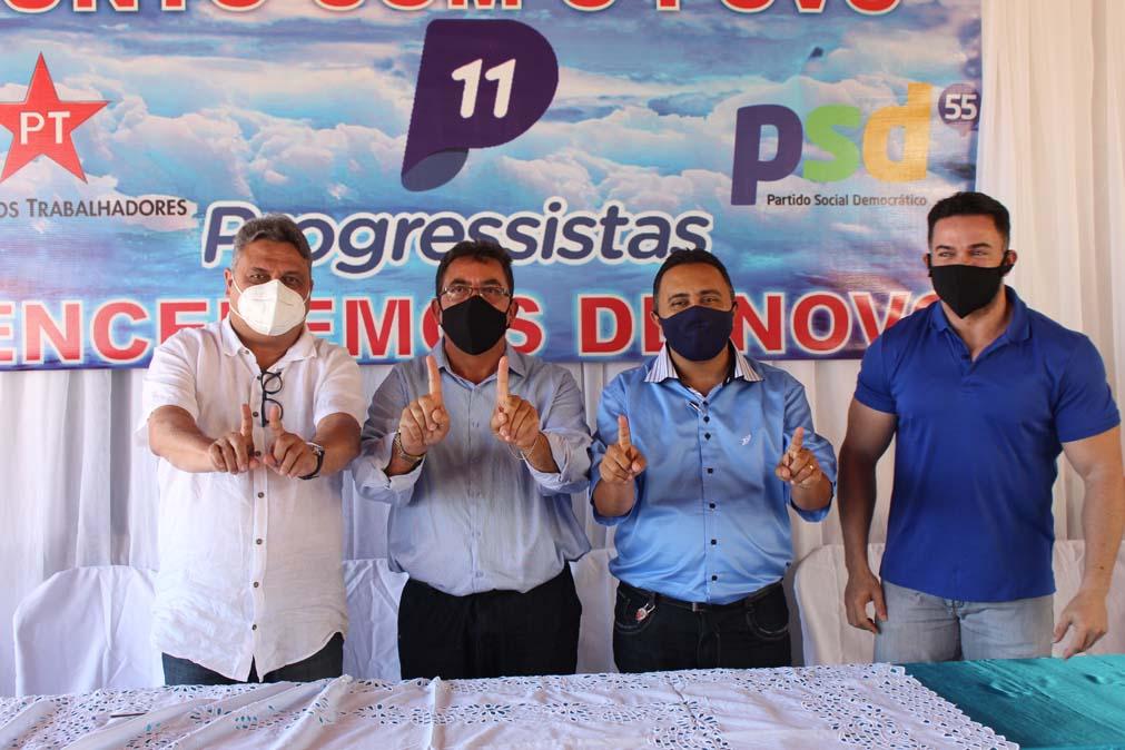 Tiel e Luizinho são homologados como candidatos a prefeito e vice em convenção em Tanque do Piauí 7