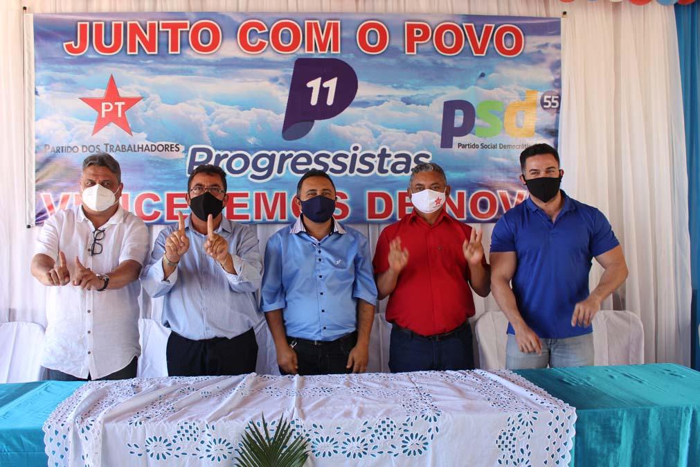 Tiel e Luizinho são homologados como candidatos a prefeito e vice em convenção em Tanque do Piauí 8