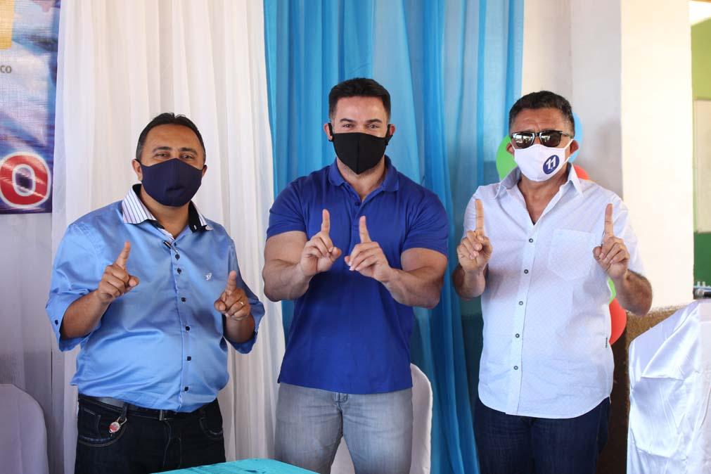Tiel e Luizinho são homologados como candidatos a prefeito e vice em convenção em Tanque do Piauí 9