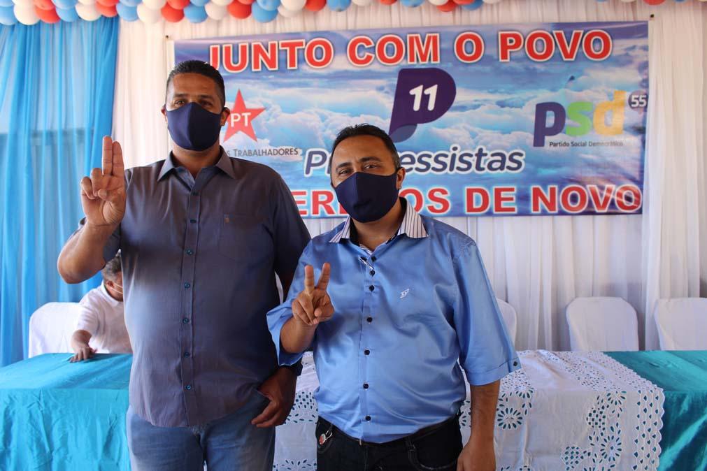 Tiel e Luizinho são homologados como candidatos a prefeito e vice em convenção em Tanque do Piauí 10