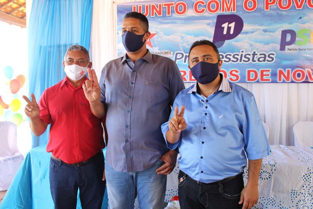 Tiel e Luizinho são homologados como candidatos a prefeito e vice em convenção em Tanque do Piauí 11