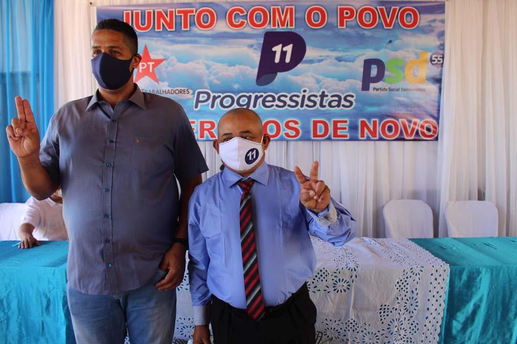 Tiel e Luizinho são homologados como candidatos a prefeito e vice em convenção em Tanque do Piauí 12