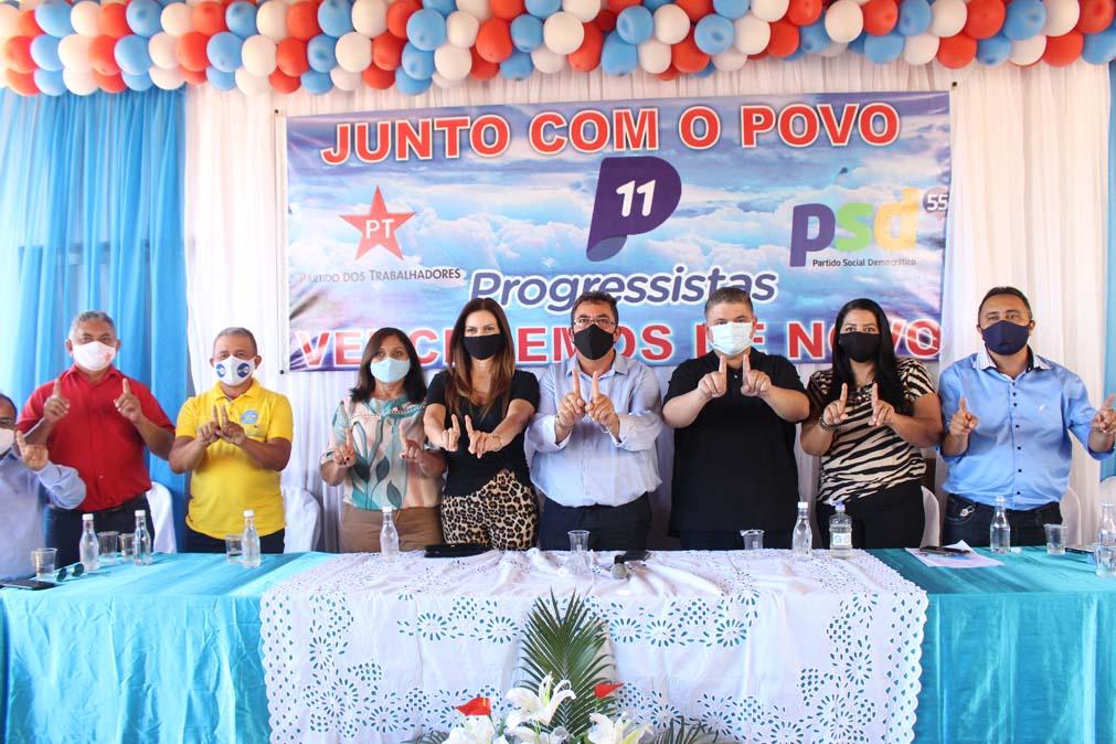 Tiel e Luizinho são homologados como candidatos a prefeito e vice em convenção em Tanque do Piauí 21
