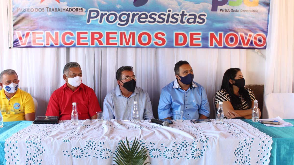 Tiel e Luizinho são homologados como candidatos a prefeito e vice em convenção em Tanque do Piauí 33