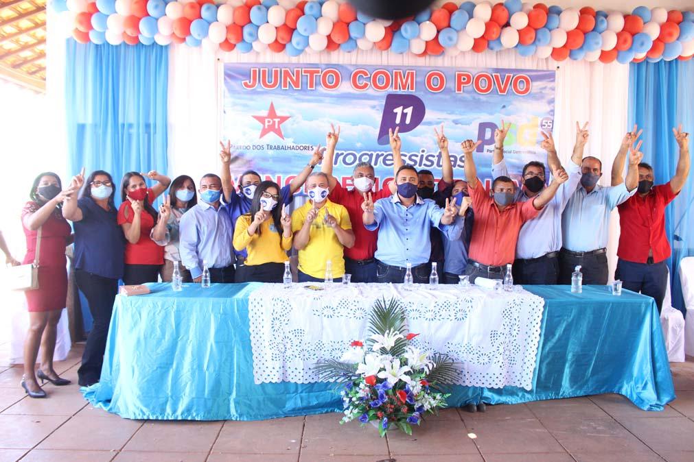 Tiel e Luizinho são homologados como candidatos a prefeito e vice em convenção em Tanque do Piauí 37