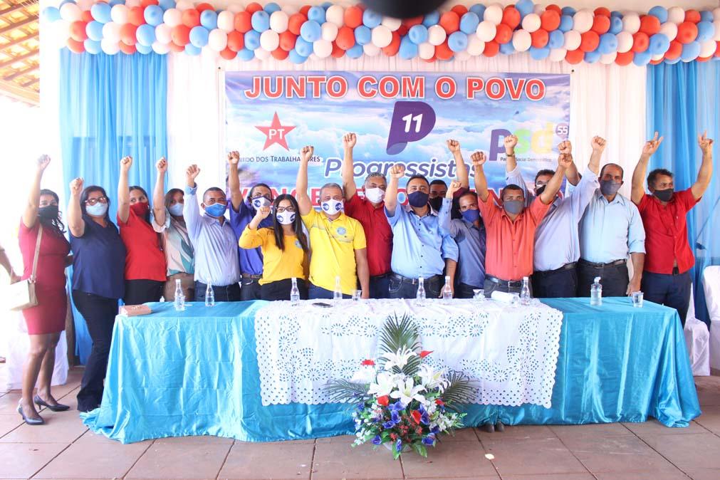 Tiel e Luizinho são homologados como candidatos a prefeito e vice em convenção em Tanque do Piauí 38
