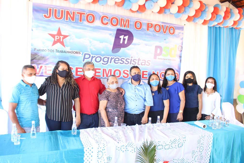 Tiel e Luizinho são homologados como candidatos a prefeito e vice em convenção em Tanque do Piauí 39