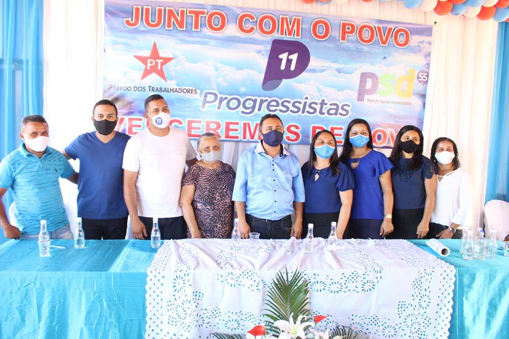 Tiel e Luizinho são homologados como candidatos a prefeito e vice em convenção em Tanque do Piauí 40