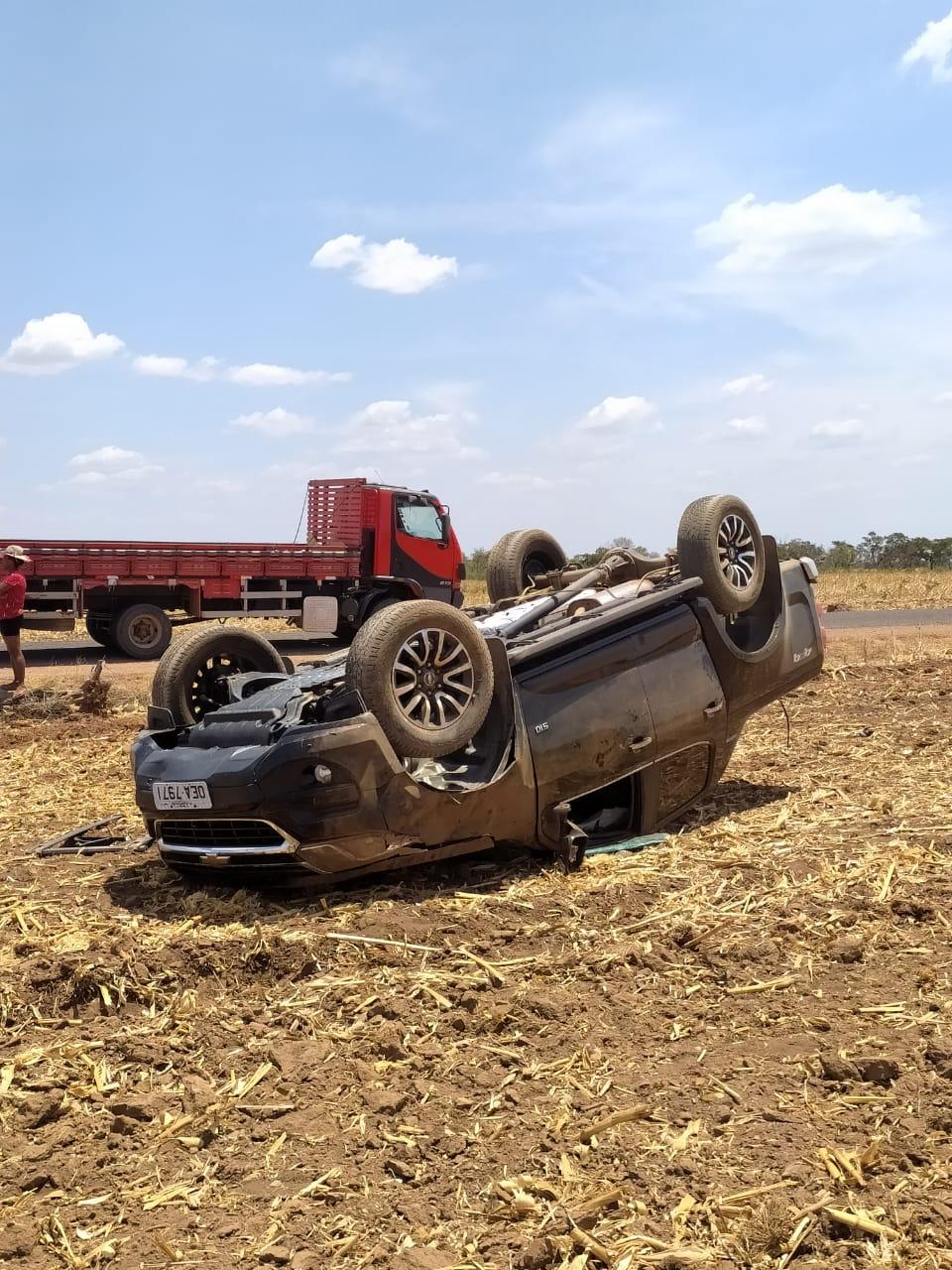 Diretor do Hospital Regional de Oeiras sofre acidente automobilístico na PI 236 próximo a Regeneração 3
