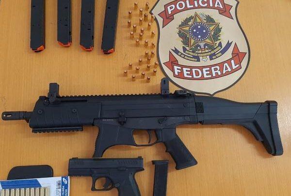 Condenado por tráfico é preso em flagrante com submetralhadora durante operação da PF no Piauí 1