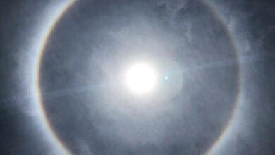 Halo solar se forma no céu em Teresina; entenda como o fenômeno ocorre 4