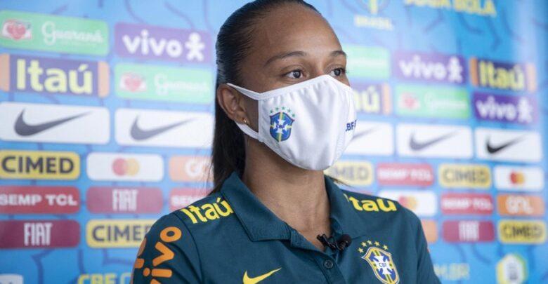 Piauiense Adriana celebra recomeço na seleção após lesão que a tirou da Copa 1