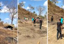 Vídeo registra tiroteio e correria em invasão de terra na Taboca do Pau Ferrado zona rural de Teresina 8