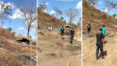 Vídeo registra tiroteio e correria em invasão de terra na Taboca do Pau Ferrado zona rural de Teresina 2