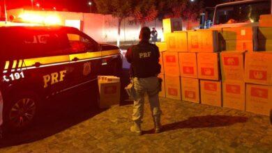 PRF apreende cargas de cigarros contrabandeados avaliada em R$ 270 mil em Oeiras 4