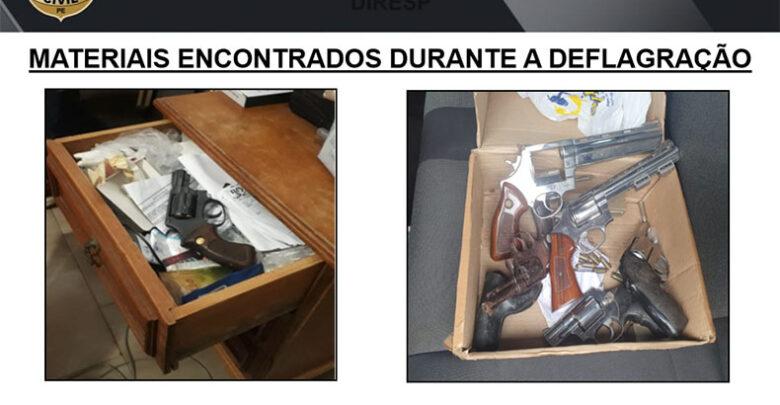 Polícia do Pernambuco cumpre mandados de busca e apreensão em Picos 1