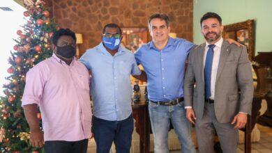 Novo prefeito de Cajazeiras do Piauí participa de reunião com senador Ciro nogueira e os deputados Bessah e Atila Lira 3