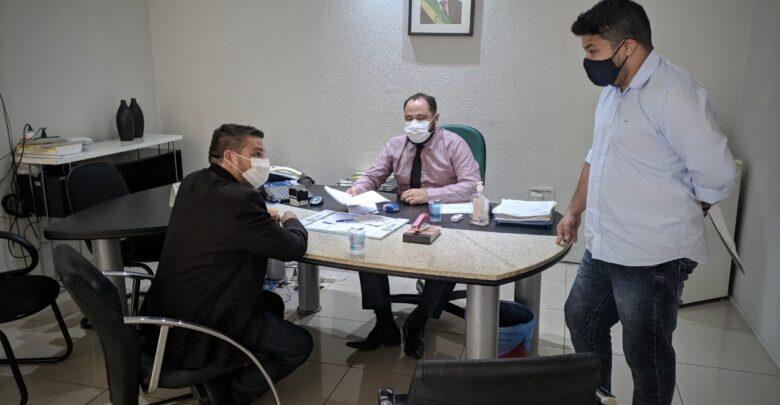 Vereador Gilmar Fontes participa de reunião com Presidente Estadual do DETRAN-PI 36