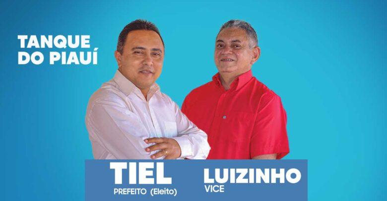 Tiel eleito prefeito do Tanque do Piauí com 880 de votos validos de maioria do seu concorrente 1