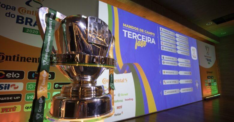 Sorteio das quartas de final da Copa do Brasil acontece nesta sexta 1