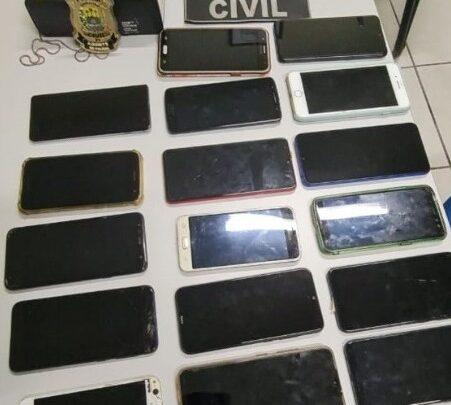 Polícia Civil recupera celulares avaliados em mais de R$ 20 mil durante operação em cidades do PI e MA 1