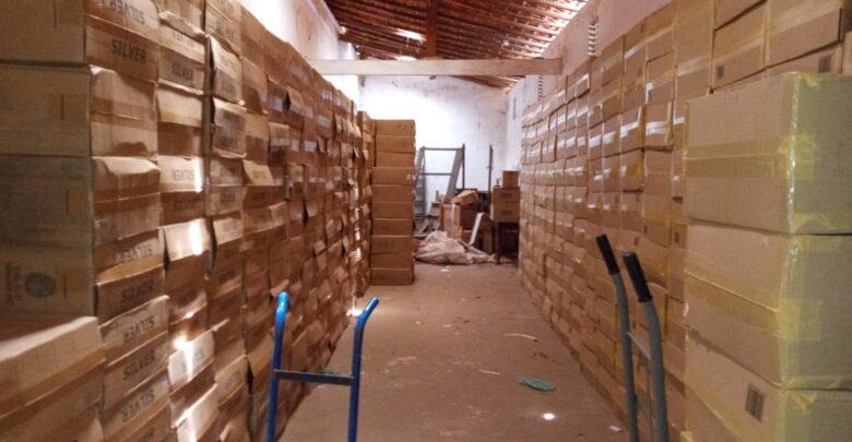 PM apreende carga de cigarros avaliada em R$ 1 milhão em fazenda no Piauí 1